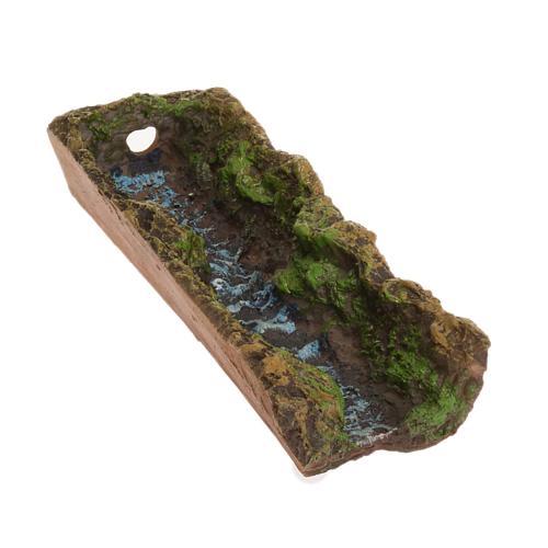 Nativity accessory, stream 17,5x5x3 cm 1
