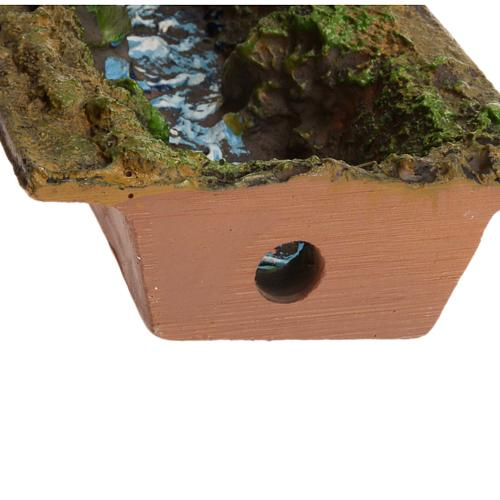 Nativity accessory, stream 23x5x4 cm 5