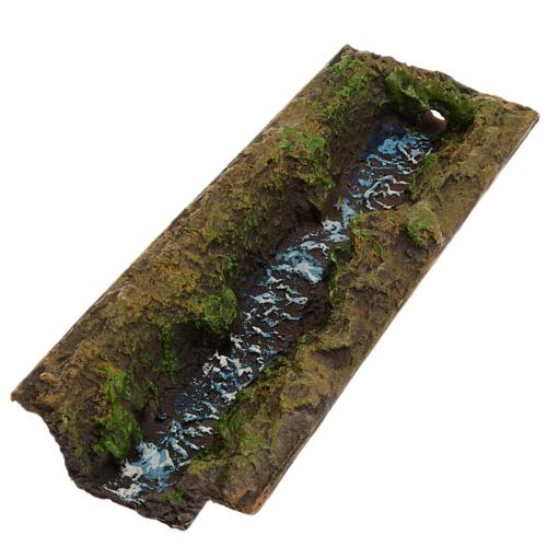 Nativity accessory, stream 23x5x4 cm 1