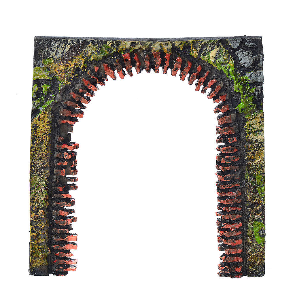 Arch door for nativities measuring 11cm 4