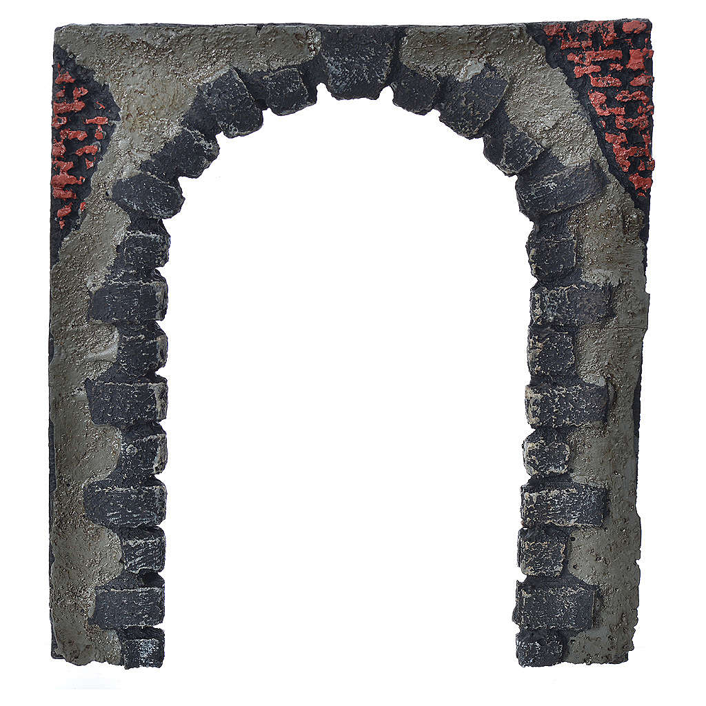 Nativity accessory, arched door for do-it-yourself nativities 16 4