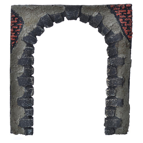 Nativity accessory, arched door for do-it-yourself nativities 16 5
