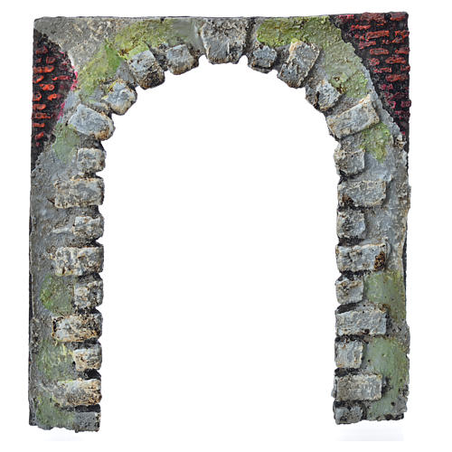 Nativity accessory, arched door for do-it-yourself nativities 16 6
