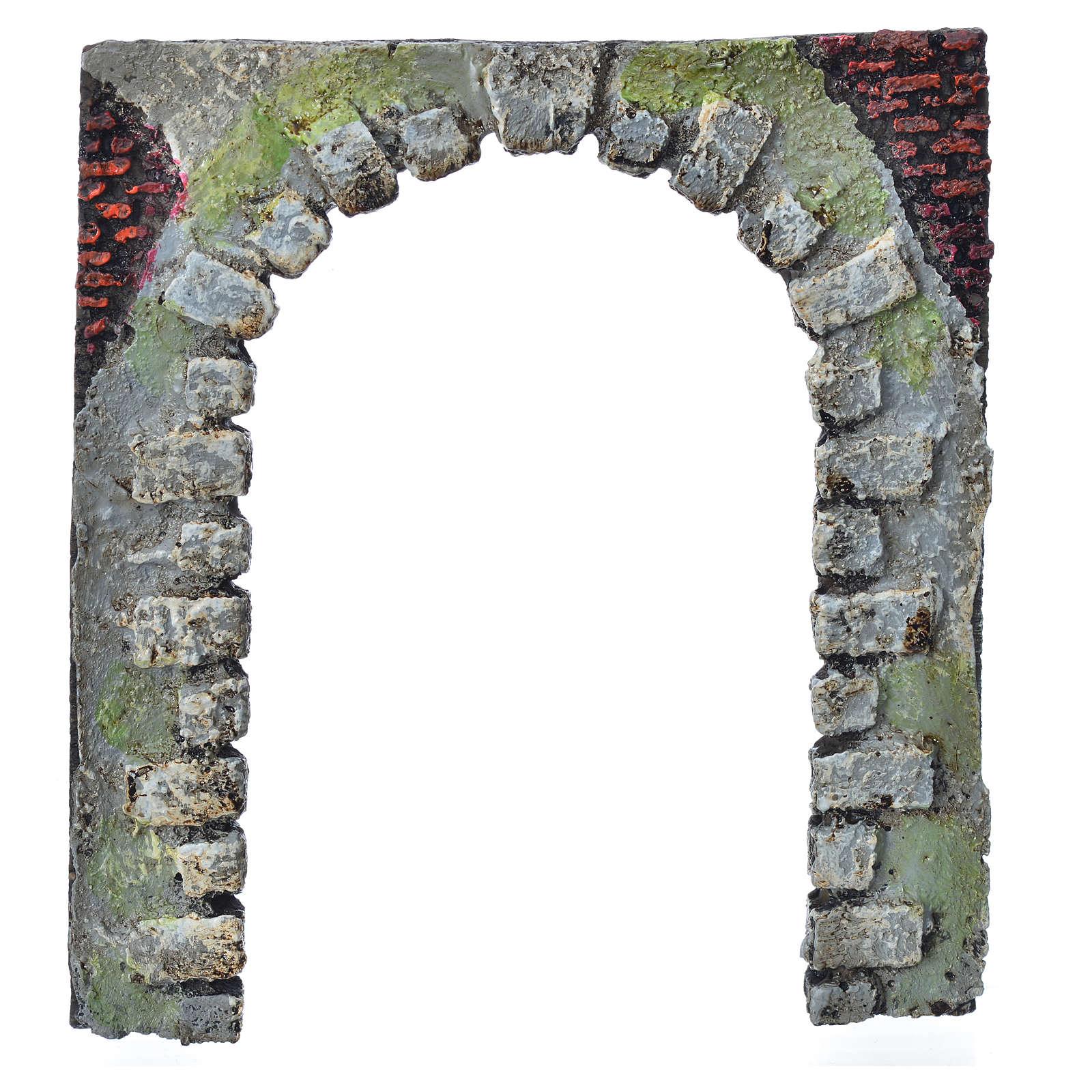 Porte-arc décoratif crèche de noël 16 cm (modèles assortis) 4