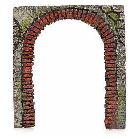 Porte-arc décoratif crèche de noël 16 cm (modèles assortis) s3