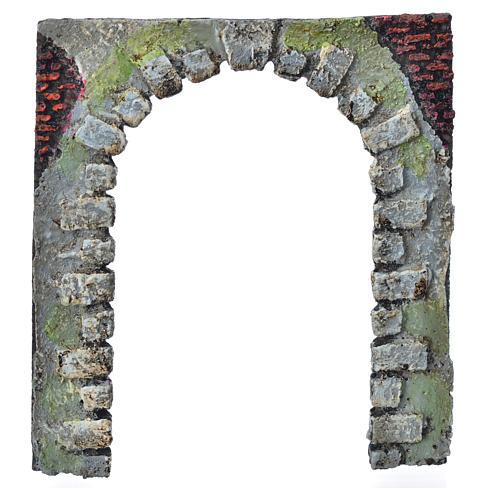 Porte-arc décoratif crèche de noël 16 cm (modèles assortis) 6