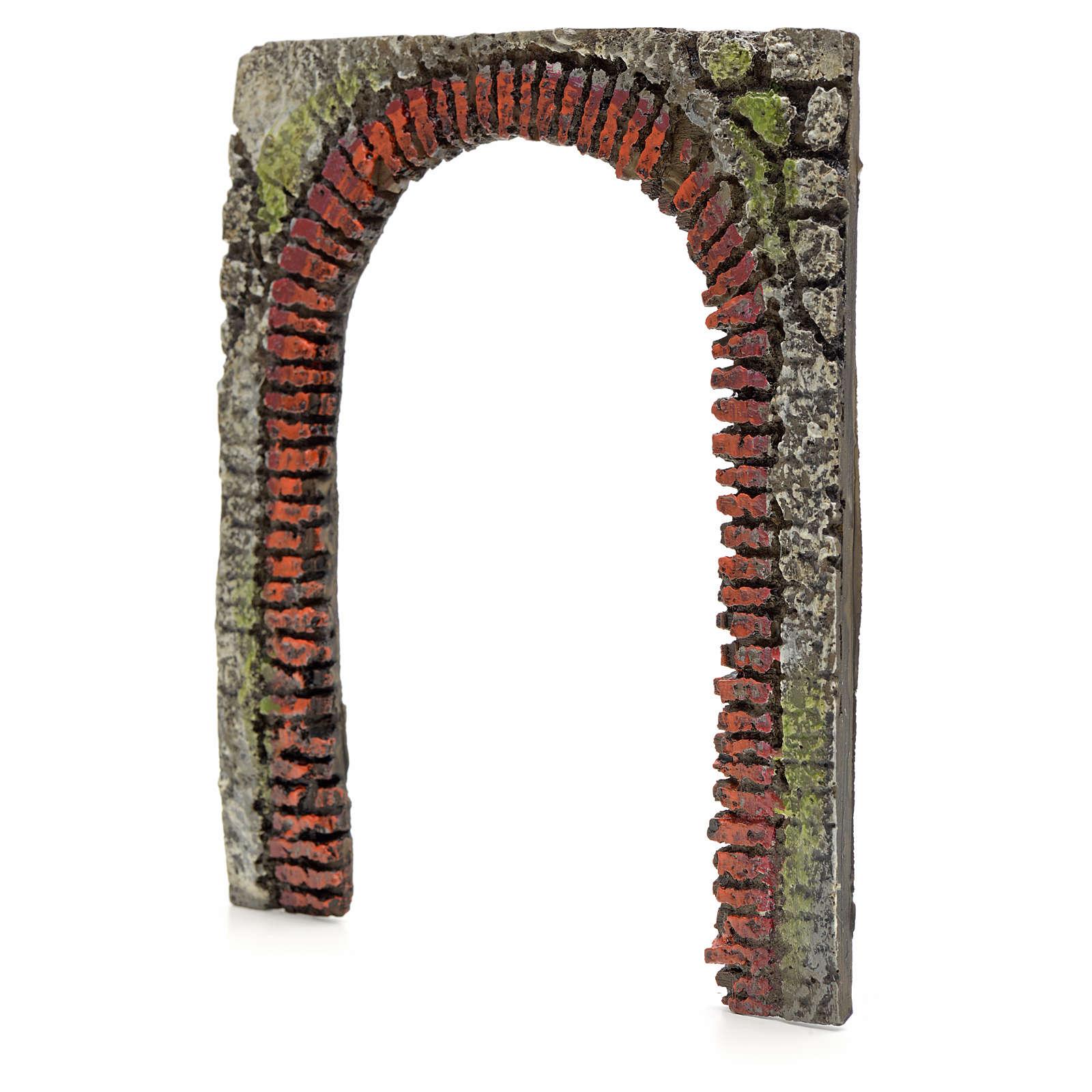 Porta em arco presépio 16 cm modelos vários 4