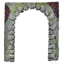 Nativity accessory, arched door for do-it-yourself nativities 16 s6