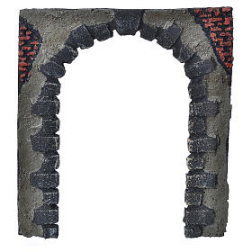 Nativity accessory, arched door for do-it-yourself nativities 16 s1