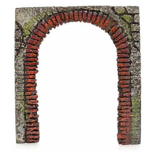 Nativity accessory, arched door for do-it-yourself nativities 16 3