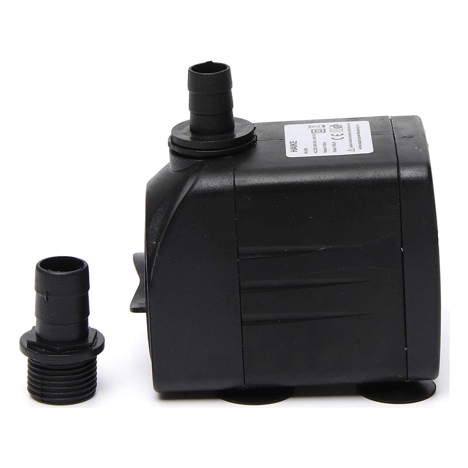 Mini pompe pour fontaine crèche Noel 16w AP399A 4