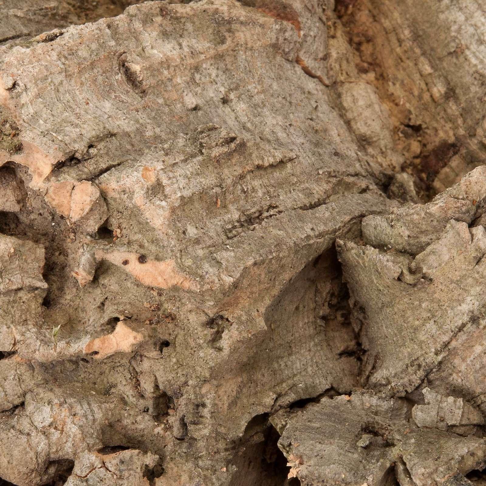 Morceaux de liège décoratif crèche noel 300 4
