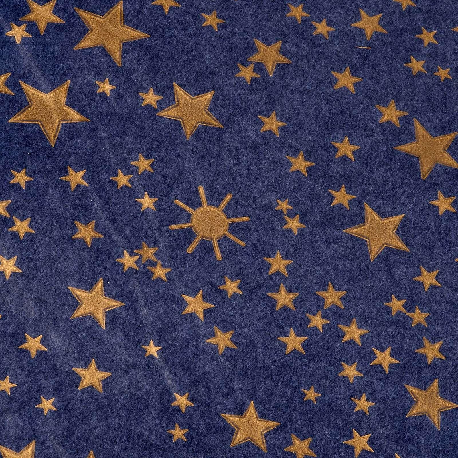 Papier Himmel mit Sternen 70x100cm 4