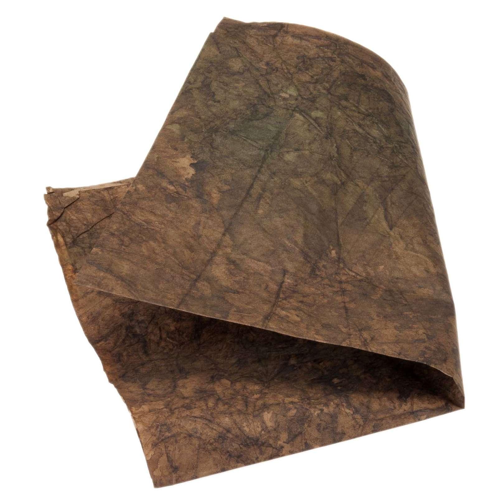 Papier rocher décoratif crèche de noel 70x100 4