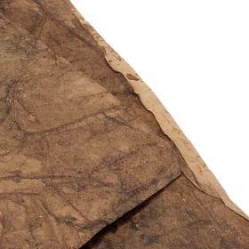 Papier rocher décoratif crèche de noel 70x100 s3