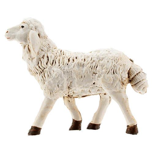 Nativity scene figurines, plastic sheep, 4 pieces 20cm 4