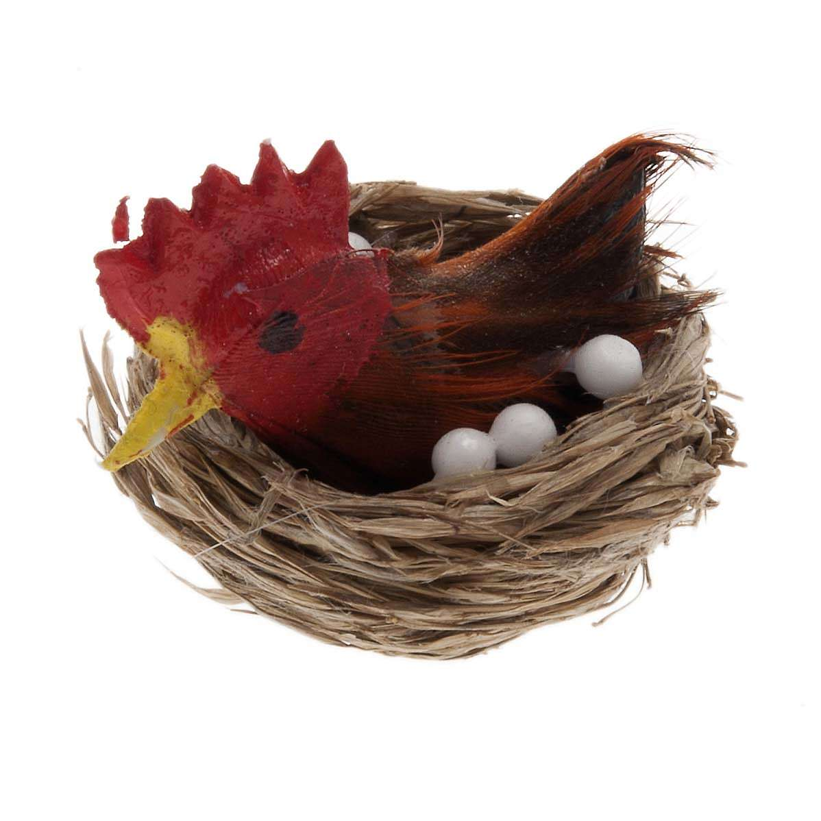 Nativity figurine, hen brooding for do-it-yourself nativities 3