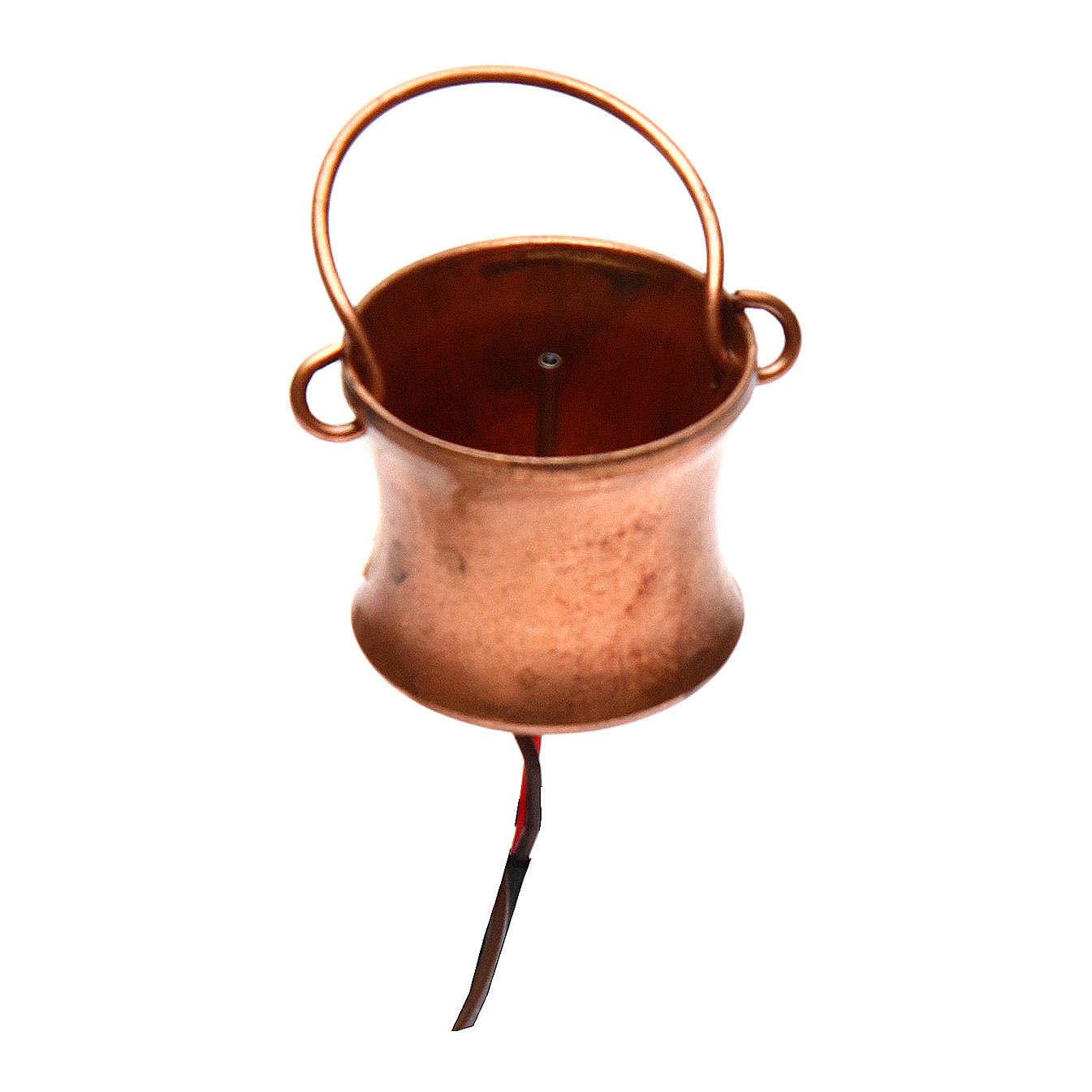 Générateur de fumée crèche de Noel 4.5v avec flacon 4