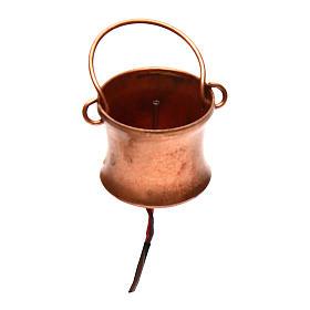 Gerador de fumaça para presépio com frasco 4,5V s1