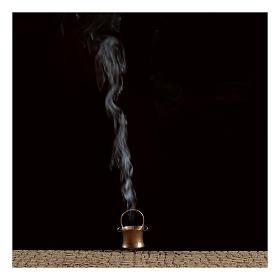 Gerador de fumaça para presépio com frasco 4,5V s2