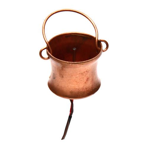 Gerador de fumaça para presépio com frasco 4,5V 1