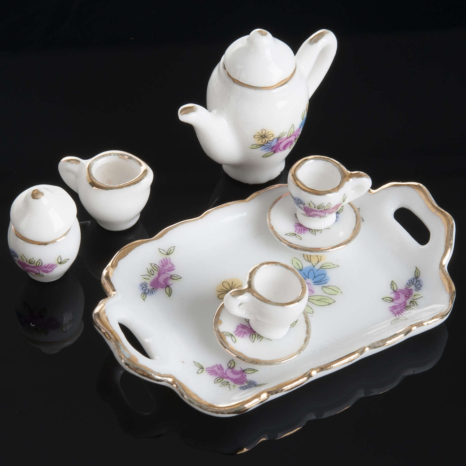 Nativity accessory, coffee and tea set in porcelain 4