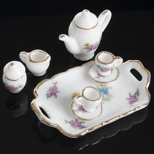 Nativity accessory, coffee and tea set in porcelain 2