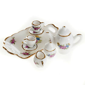 Servizio da caffè e tè miniatura presepe s1