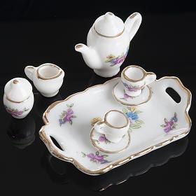 Servizio da caffè e tè miniatura presepe s2