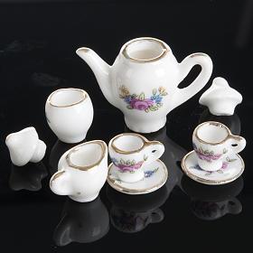 Servizio da caffè e tè miniatura presepe s5