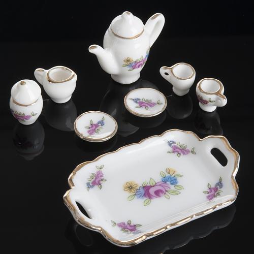 Servizio da caffè e tè miniatura presepe 3