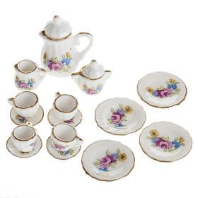 Nativity accessory, Tea set in porcelain s1