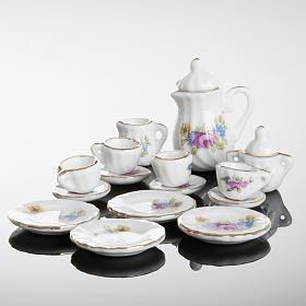 Servicio de té miniatura belén s3