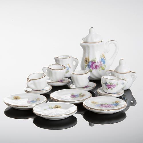 Servicio de té miniatura belén 3