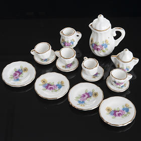 Nativity accessory, Tea set in porcelain s2