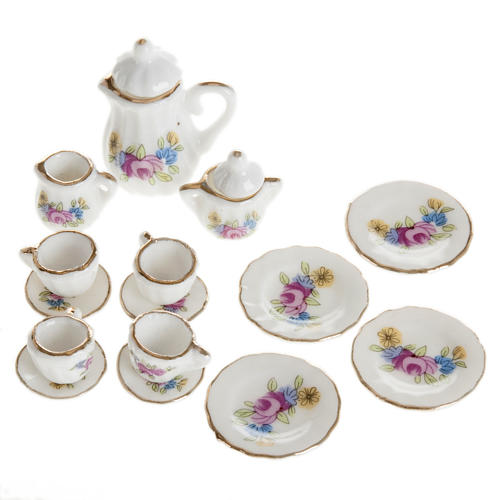 Nativity accessory, Tea set in porcelain 1