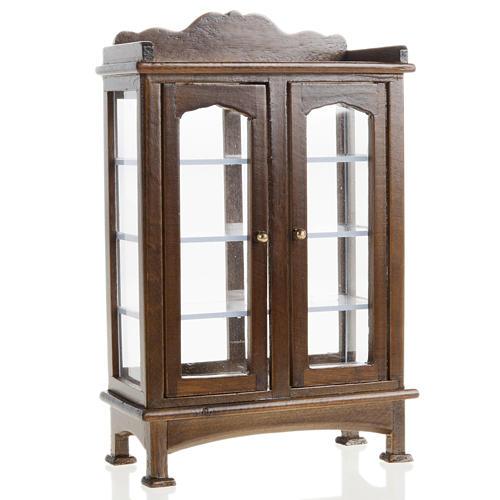 Nativity accessory, wooden cupboard 1