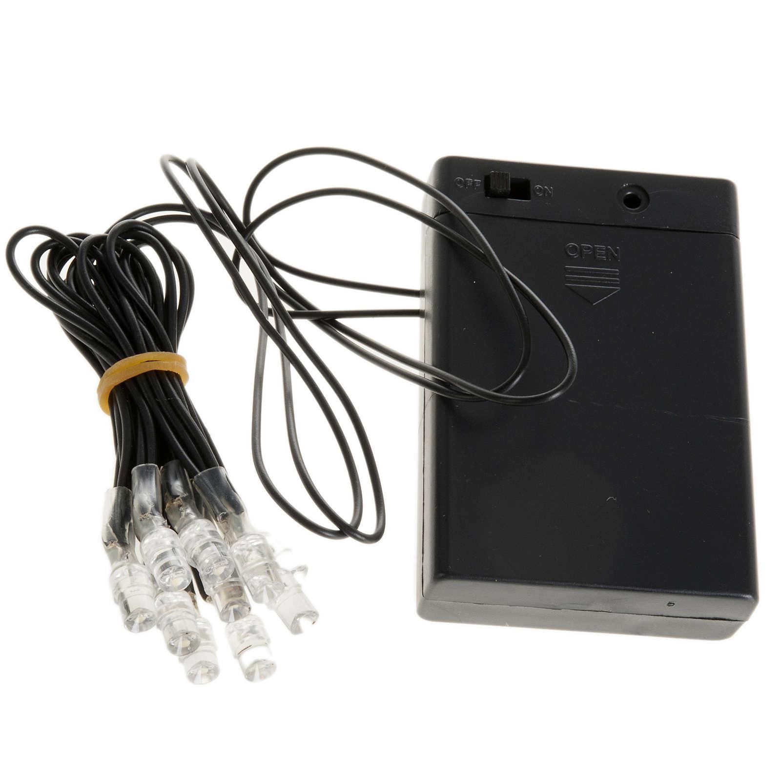 10 Led Lichter mit Batterien 4