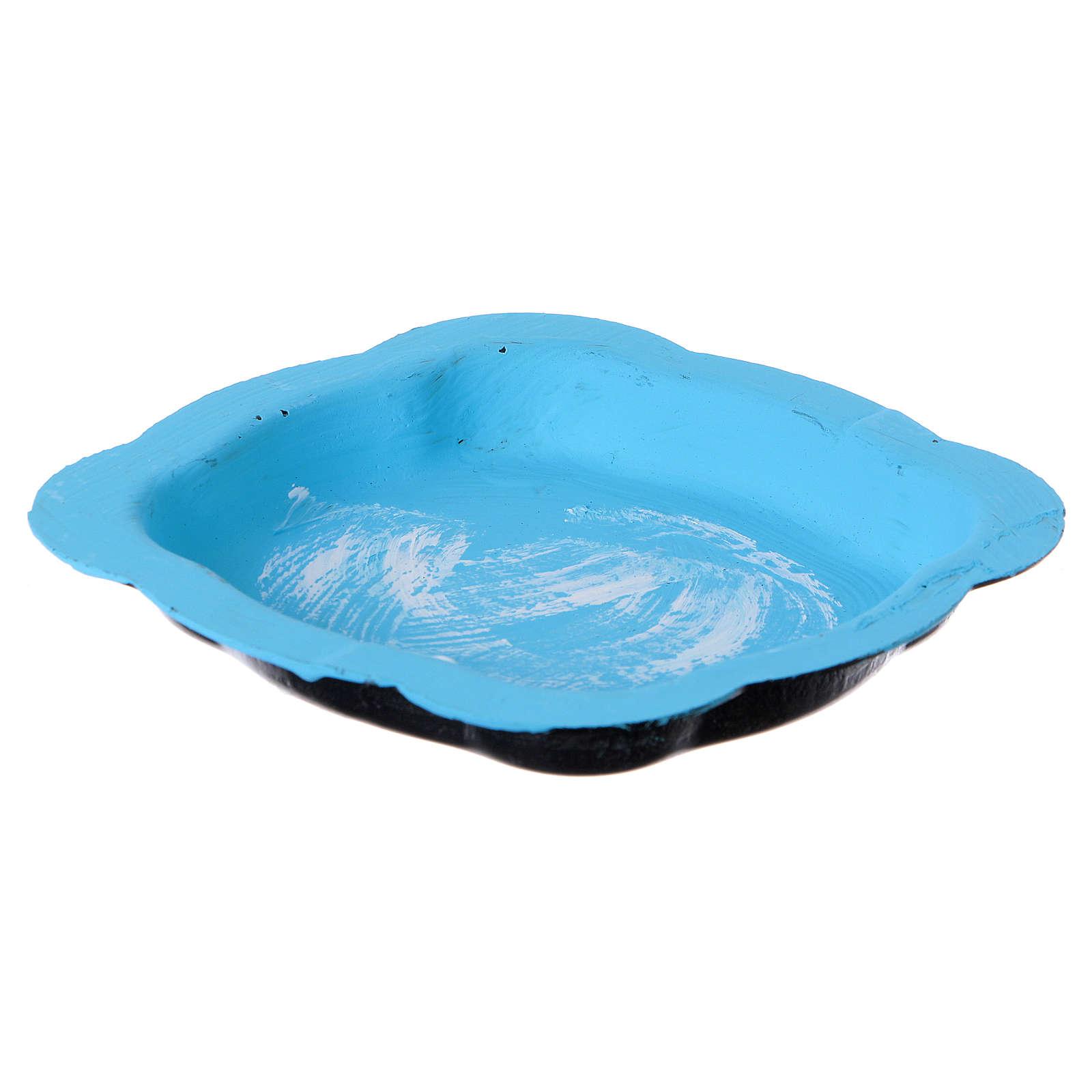 Petit bassin pour lac crèche 13x8 cm 4