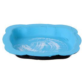Vaschetta per lago presepe 13x8 cm s1