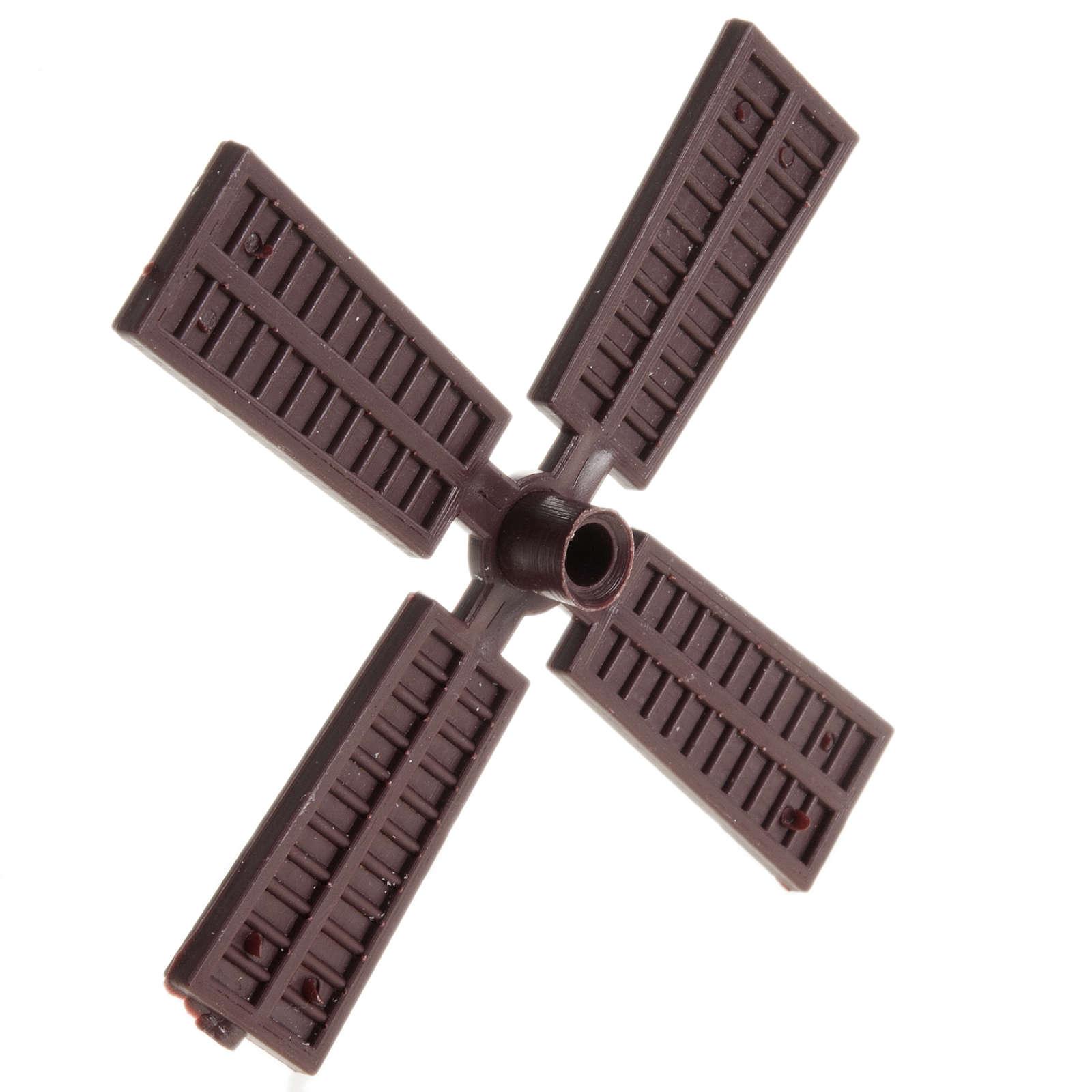 Mini pale pour moulin à vent 9 cm crèche 4