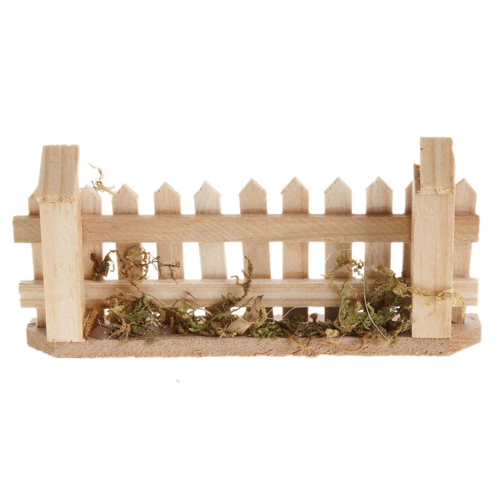 Palissade miniature pour crèche 4