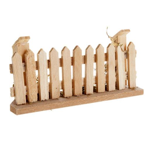Staccionata in legno presepe 1