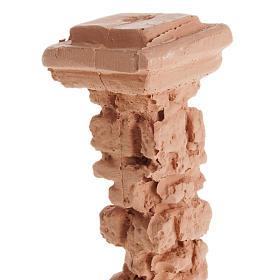 Miniature colonne style pompéien pour crèche s2