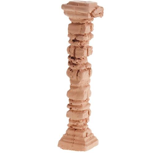 Miniature colonne style pompéien pour crèche 1