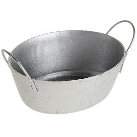 Bacinella metallo presepe s1