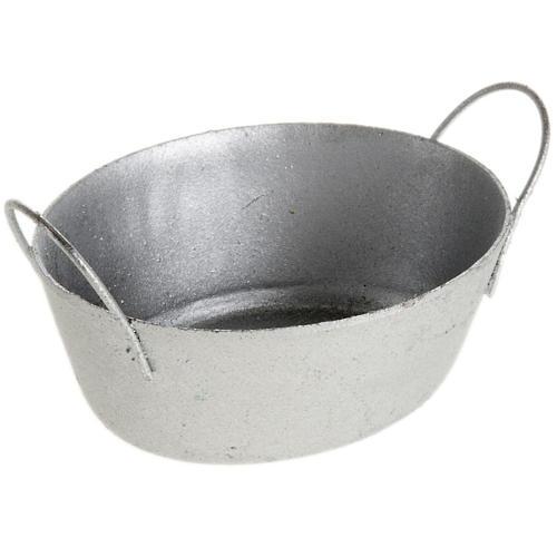 Bacinella metallo presepe 1