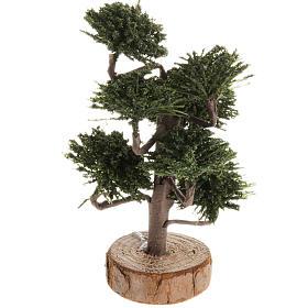 Mousse végétale, Lichens, Arbres, Pavages: Arbre décoratif crèche noel 12 cm