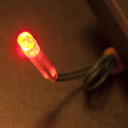LED fire effect light, battery powered 3
