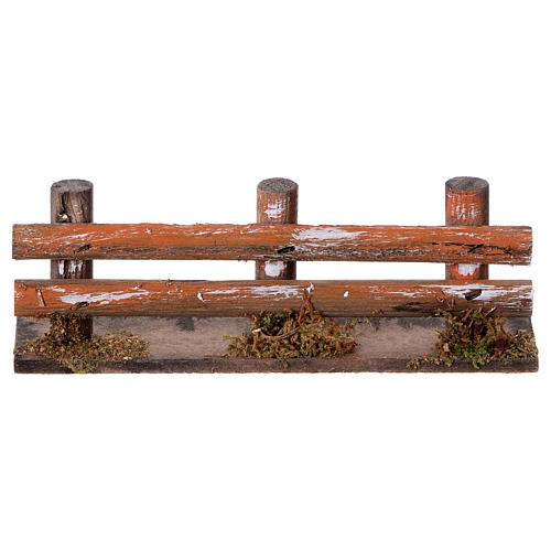 Valla de troncos 15 x 3,5  cm. 1